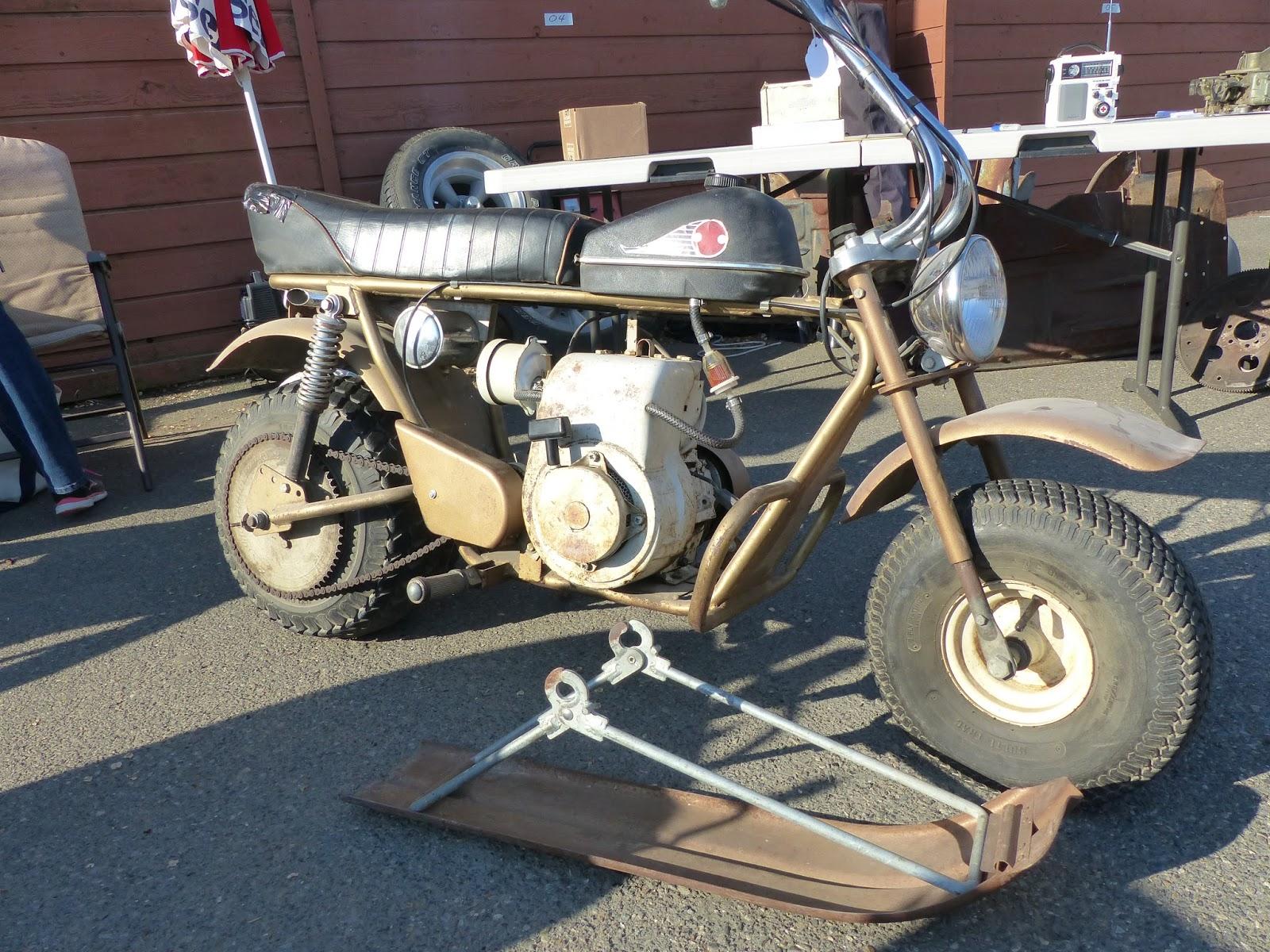 Oldmotodude Heathkit Mini Bike With Ski For Sale 1500 At