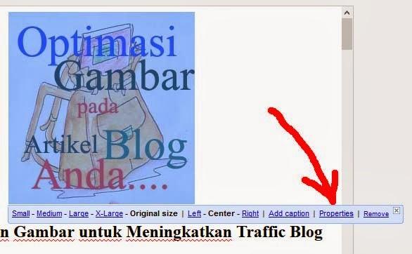 memaksimalkan gambar atau foto untuk meningkatkan traffic blog