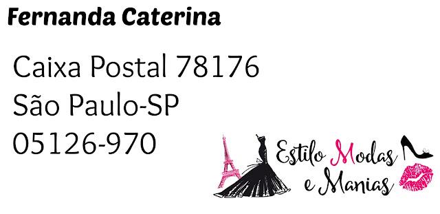 Caixa Postal #dica de blogueira blog estilo modas e manias