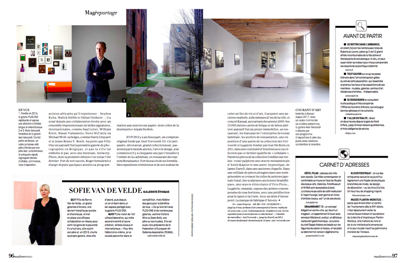 A Story About Art In Antwerp I Shot End Of January For Madame Figaro. It  Was Wonderful To Do The Tour With Anne Claire Meffre Who Wrote The Story.