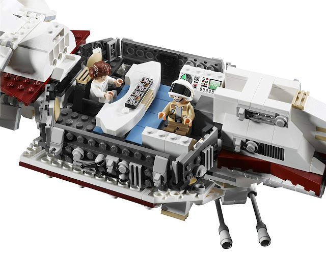 inside the tantive IV lego
