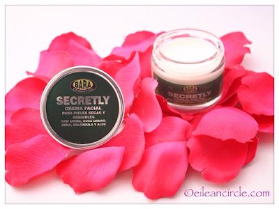 Crema facial pieles sensibles deshidratadas secas Bara Cosmetics cosmética natural