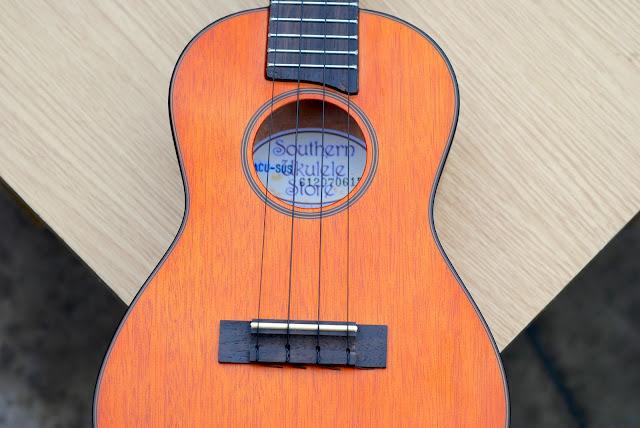 SUS Concert Ukulele soundhole