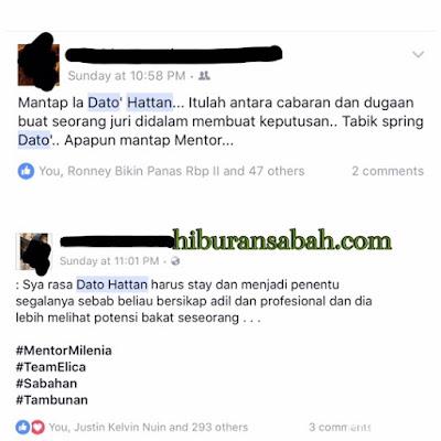 Netizen Menyokong Tindakan Datuk Hattan