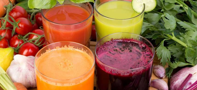 Jus sayur dan buah untuk cemilan