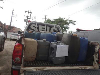 Polícia Civil prende quadrilha especializada em roubo e comercialização ilegal de combustível no interior do Maranhão