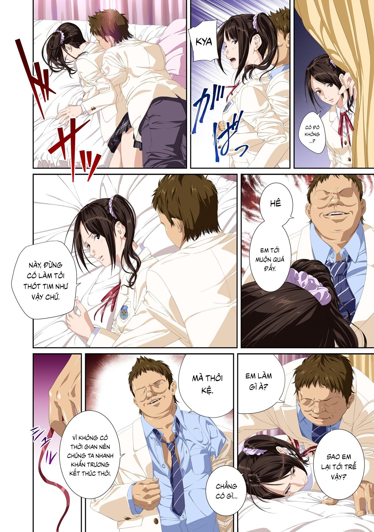 Truyện tranh sex địt em mỹ nhân trường học - Chap 10 - Truyện Hentai