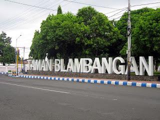Taman Blambangan Banyuwangi akan direvitalisasi.