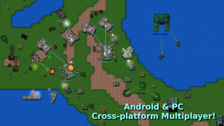 Rusted Warfare - RTS Strategy MOD DINHEIRO INFINITO 1.14