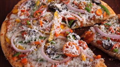 पिज्जा बनाने की रेसिपी-Pizza Recipe/