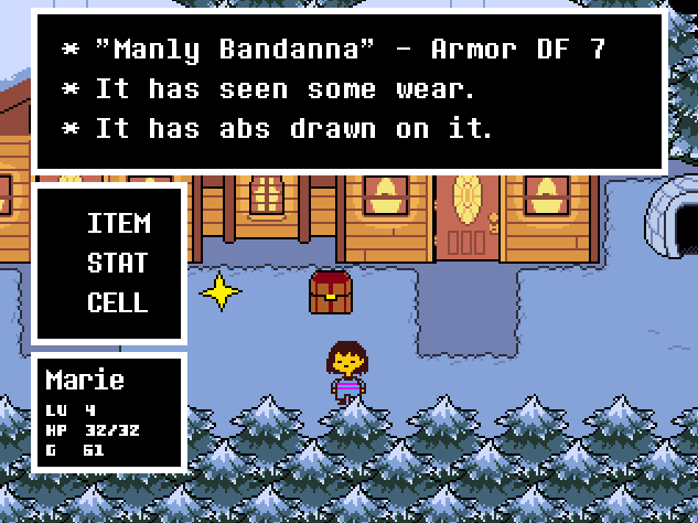 Undertale All Weapons — Available Space Miami