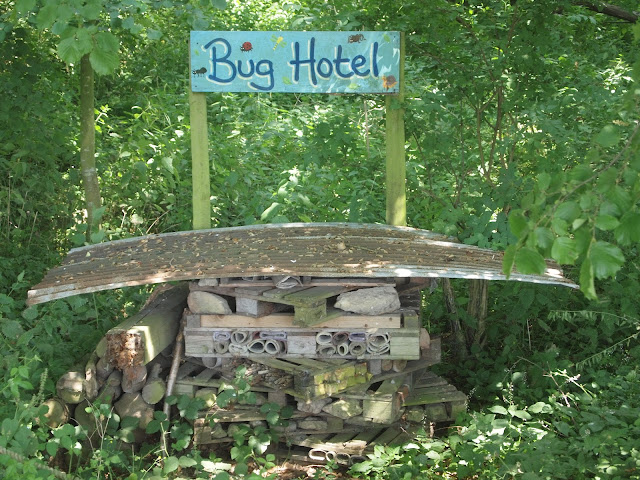 Godstone Farm, Surrey Review - Bug Hotel