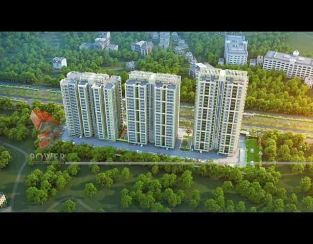 Township Apartments Design | 3D Rendering: township 3d architectural ...