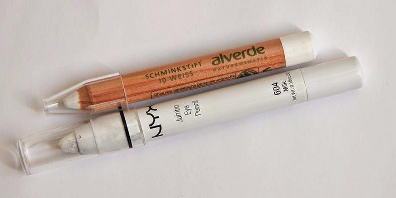Alverde Schminkstift 10 weiss Kunterbunte Farbwelt LE