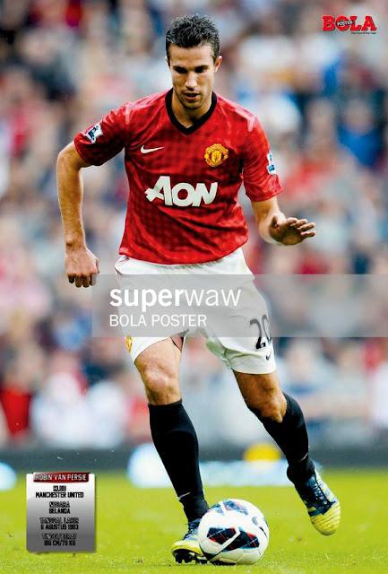 Robin Van Persie Manchester United 2012