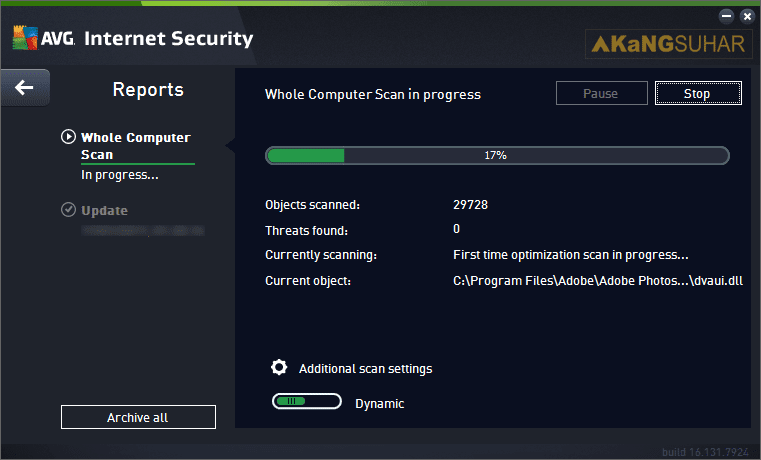 Download AVG Internet Security 2017 Full Crack