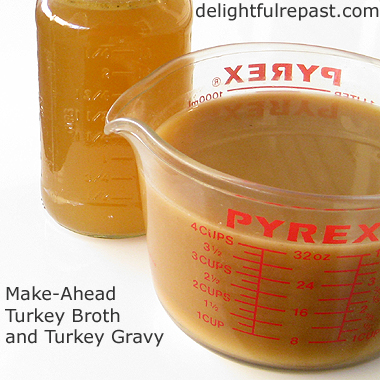 ... or in a fryer, which leaves no drippings for a rich turkey gravy