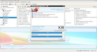 Clone mídias removíveis utilizando o programa K3b
