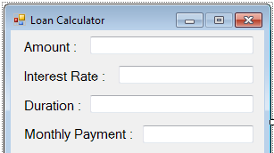 How To Make A Loan Calculator In VB.NET | Ultimate Programming Tutorials