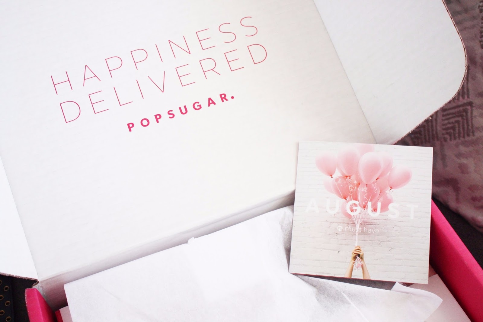 Popsugar Must Have Box August 2017
