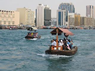 Dubai Creek abra