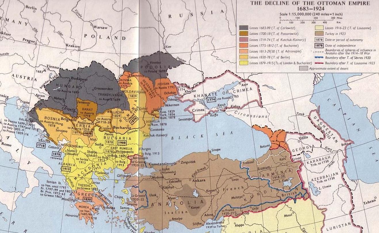 A Map of Ottoman Decline Kabinettskriege The
