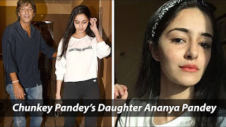 Chunky pandey with his cutest daughter ananya pandey