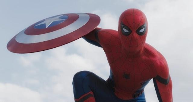 Tom Holland en el set de Spider-Man: Homecoming