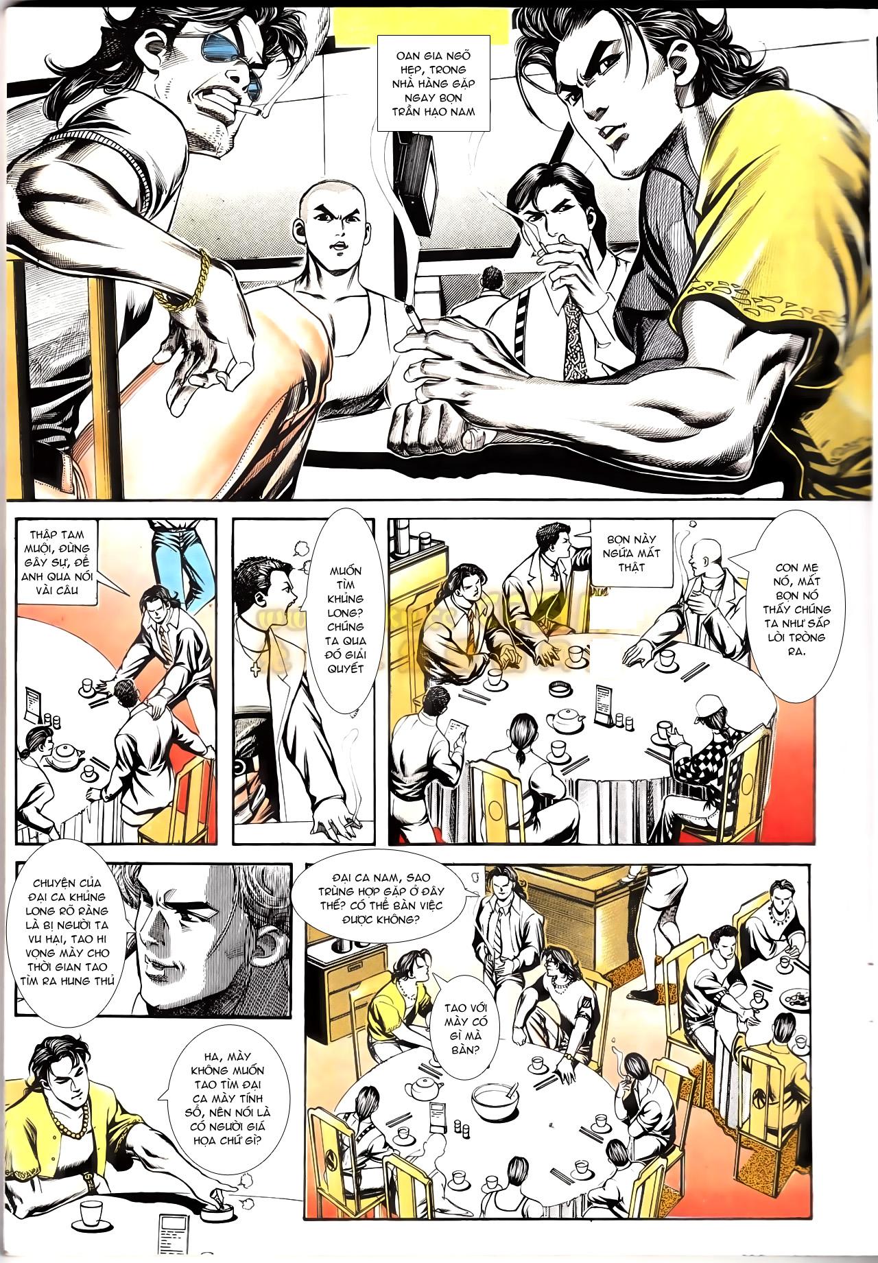 Người Trong Giang Hồ chapter 167: tội sống khó tha trang 9