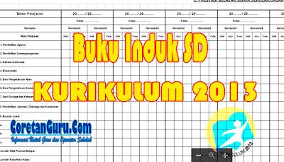 Download Buku Induk Siswa Kurikulum 2013 Mudah Dan Sederhana Versi I
