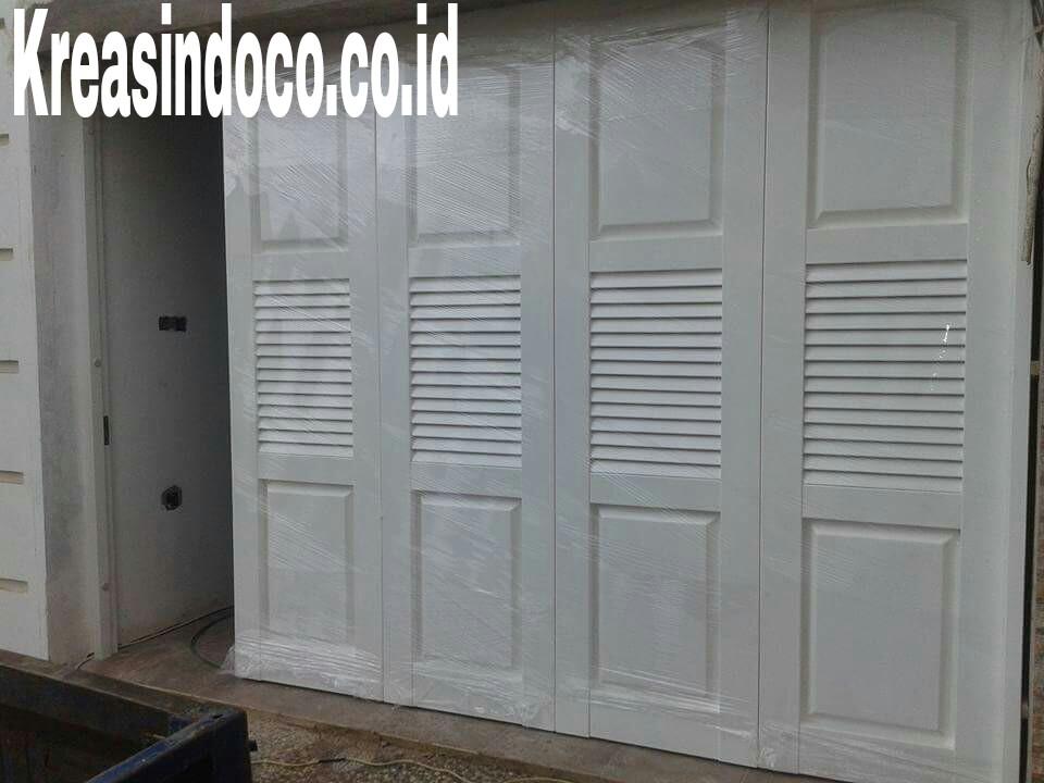 10 Model Pintu Garasi  Besi Merk Wina Dan Hi Sen Finishing