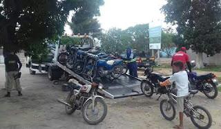 Em Cuité, PRF recolhe 15 veículos irregulares durante operação na BR 104
