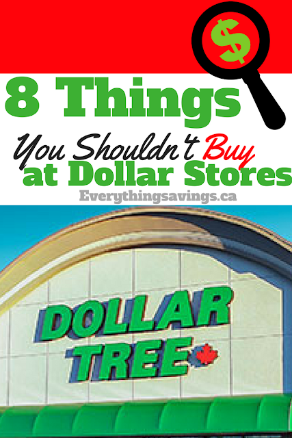 8 Things You Shouldn't & Should Buy at the Dollar Store