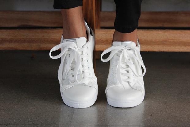 como usar tênis branco