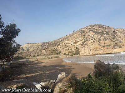 شاطئ مسكاردة مرسى بن مهيدي تلمسان