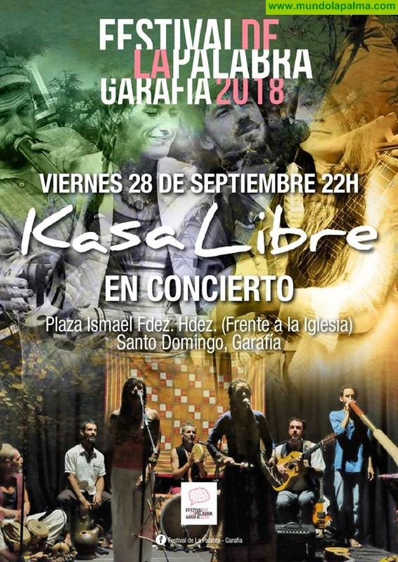 Festival de La Palabra - Concierto Kasa Libre - Garafía 2018