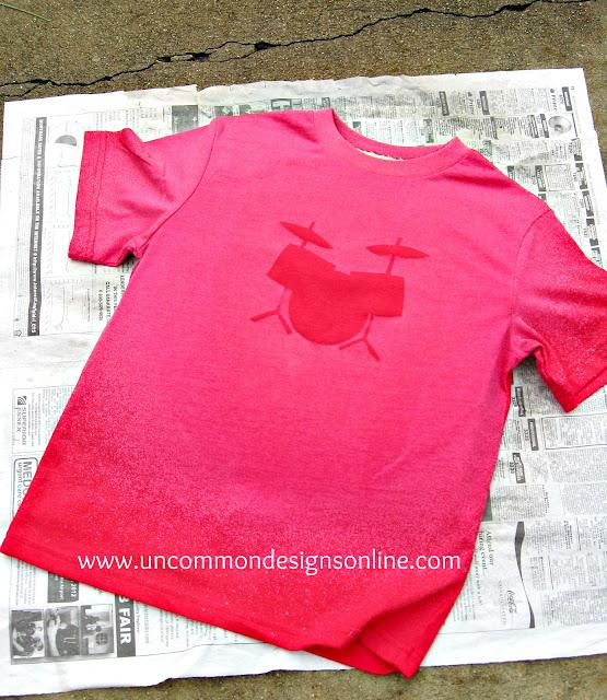 DIY Bleach T-Shirt