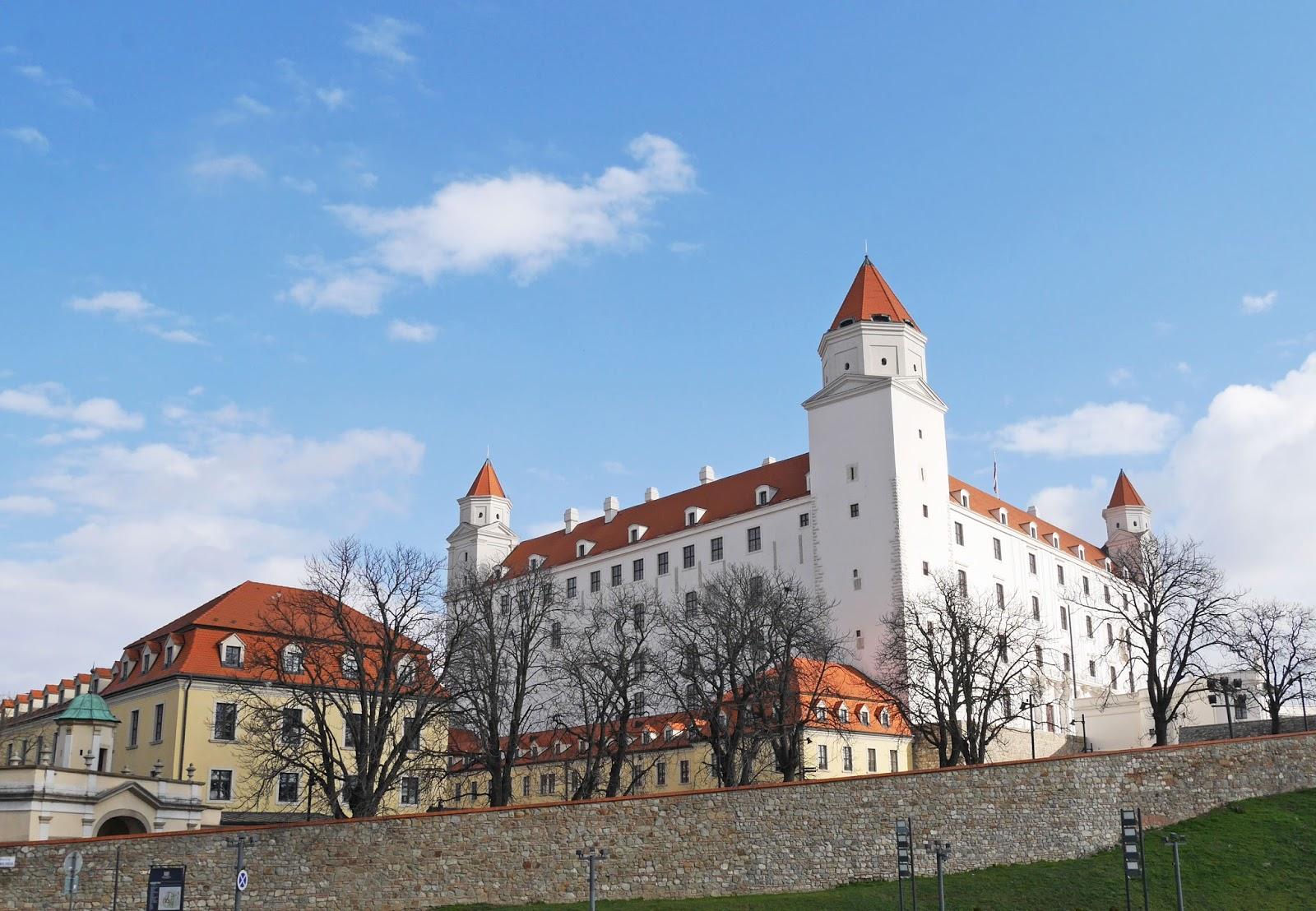 Bratislava Castle on a sunny day