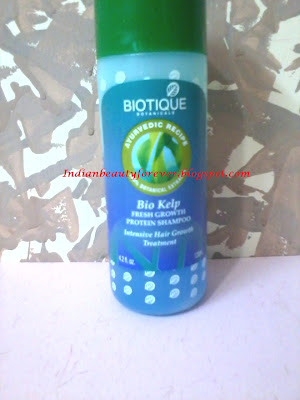 Biotique Fresh Kelp growth protein shampoo