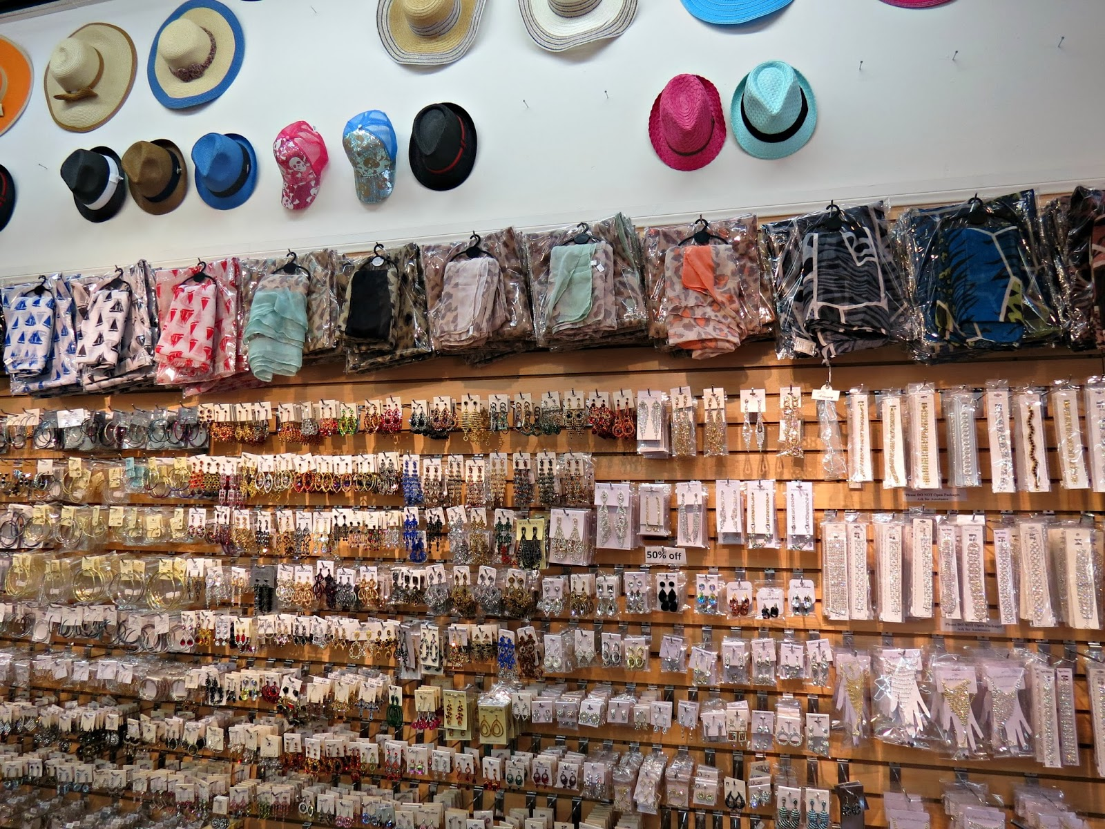 The Santee Alley Fashion Fantasia Scarves and Bridal Accessories Specialty Store