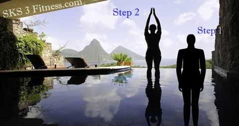 tadasana steps  mountain pose  10 benefit  palm tree pose