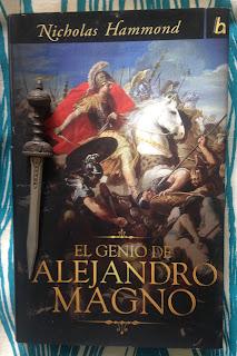 Portada del libro El genio de Alejandro Magno, de Nicholas Hammond