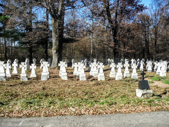 Болехов, Украина. Кладбище Первой мировой войны