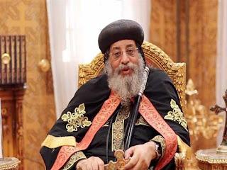 """البابا تواضروس: لست سياسيًا.. والوضع في مصر """"جيد"""" بشهادة العالم"""