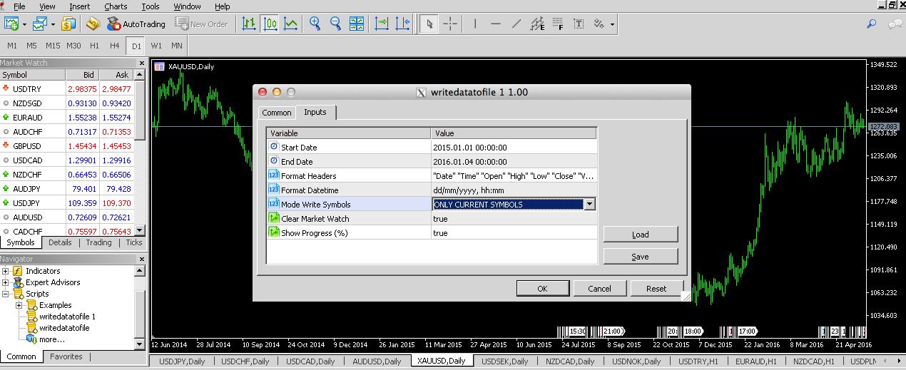 MATLAB-MQL5 Interaction: Semi-Automated Way to Transfer Data