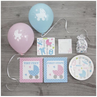 Personalized Baby Shower Decoration Set