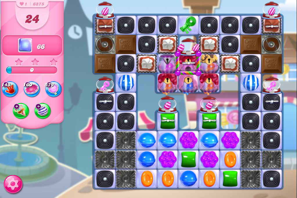 Candy Crush Saga level 6275