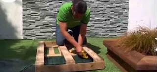 Procedimiento para realizar maceteros colgantes y verticales para interiores