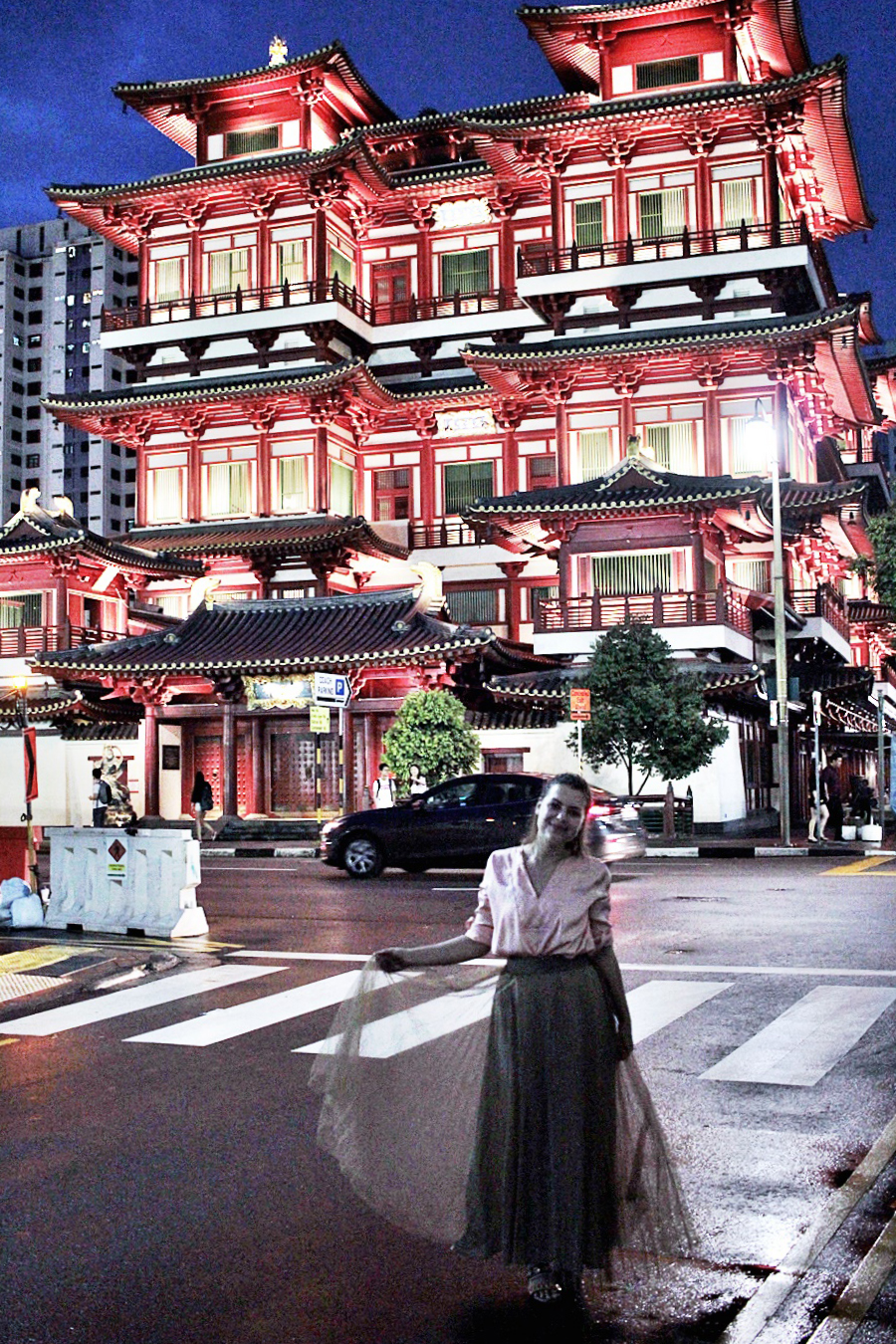 Buddha Tooth Relic Temple & Museum in Singapore
