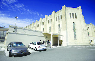 Brand new lethal injection facility at San Quentin State Prison